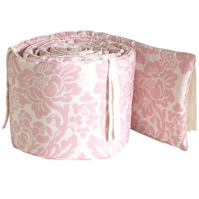 Dk. Pink Floral Bumper
