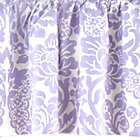Lavender Floral/Lattice Reversible Gathered Skirt