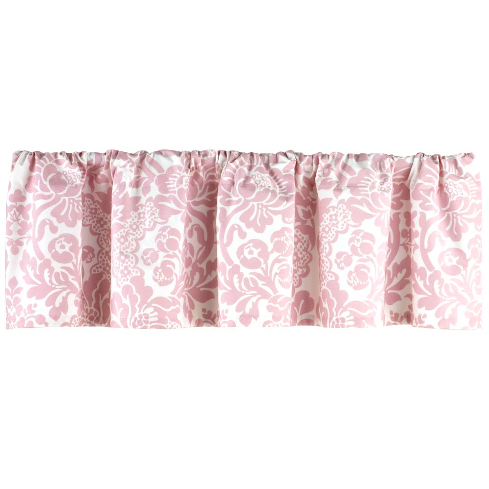 Wallpaper Floral Valance (Pink)