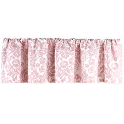 Wallpaper Floral Valance (Pink)