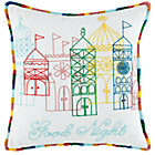 Cover Only 1001 Good Nights Throw Pillow