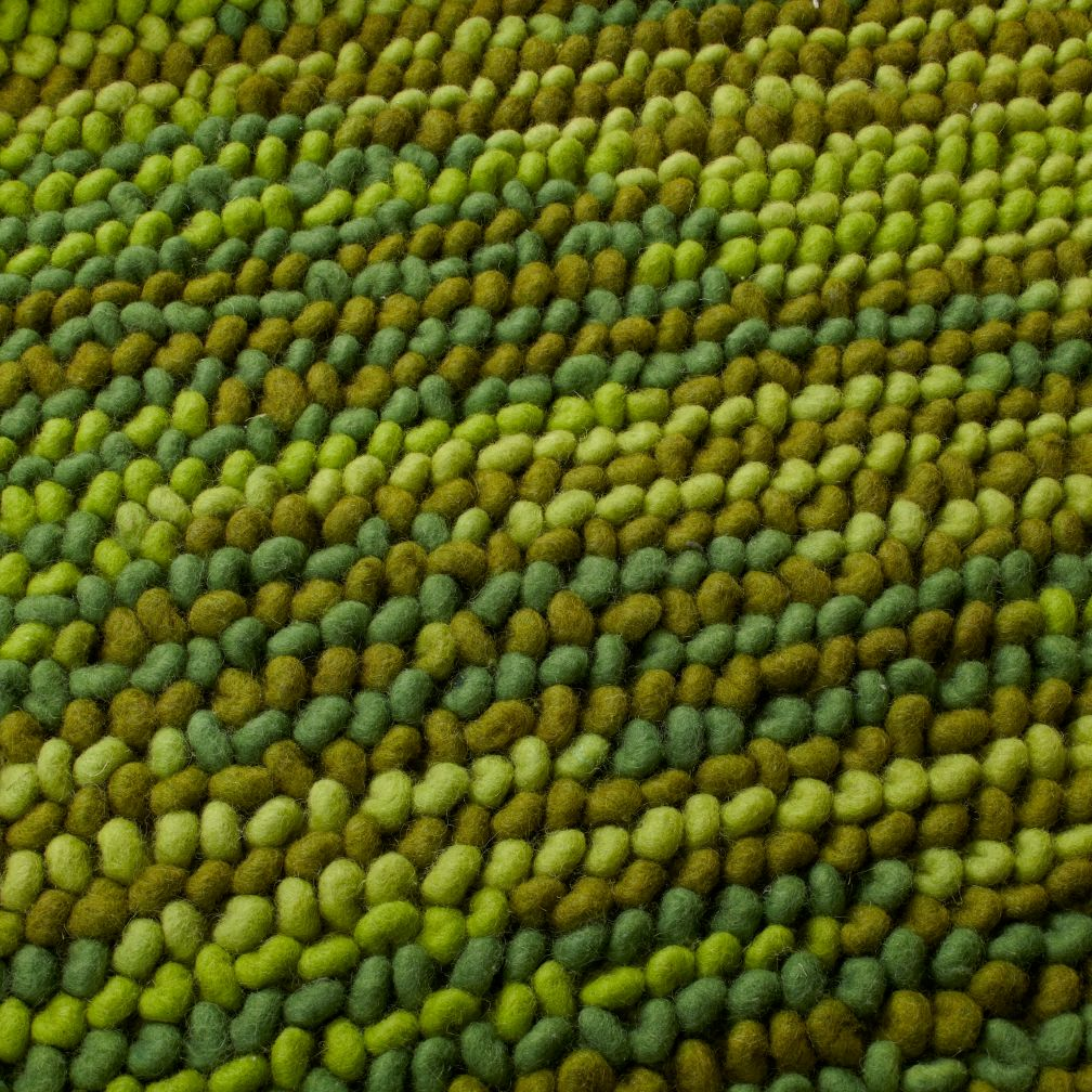 Field of Greens Rug Swatch
