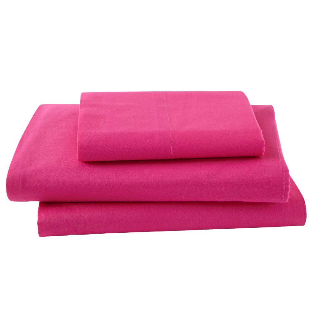 Hot Pink Neon Sheet Set (Twin)