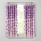 63&amp;quot; Lavender Bow Tied Curtain Panel(Sold individually)