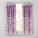 Bow Tied Curtain Panels (Lavender)