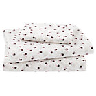Twin Antique Chic Sheet Set(includes 1 fitted sheet, 1 flat sheet and 1 case)
