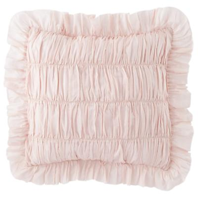 Antique Chic Rouched Throw Pillow (Pink)