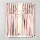 "96"" Pink Antique Chic Curtain Panel(Sold Individually)"