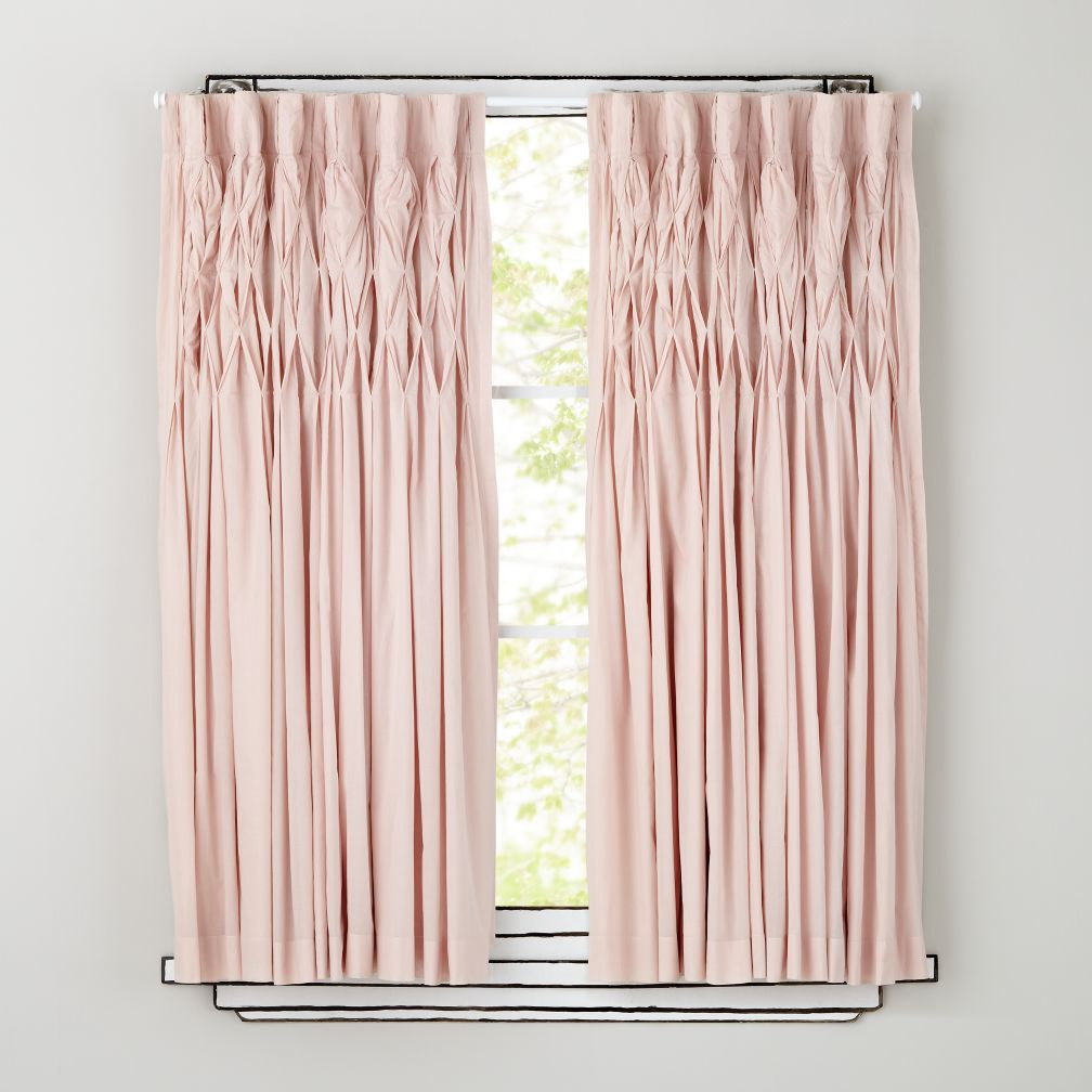 "84"" Antique Chic Curtain Panel (Pink)"