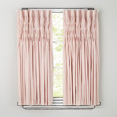 Antique Chic Curtain Panels (Pink)