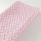 Pink Diamond Print Changing Pad Cover