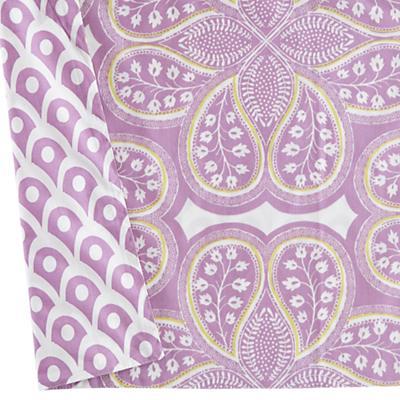 Reversible Crib Skirt (Lavender Mosaic)