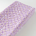 Lavender Paisley Print Changer Cover