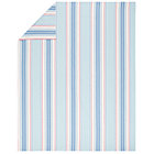 Full-Queen Lake House Stripe Duvet Cover