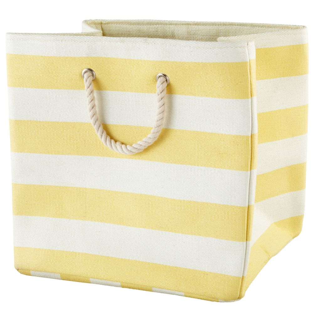Stripes Around the Floor Bin (Yellow)