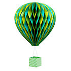 Green Beautiful Balloon Hang Up
