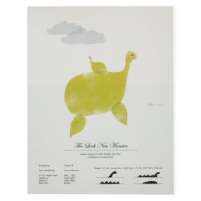 Rare Sightings Wall Art (Nessie)