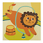 Lion Three Ring Wall Art