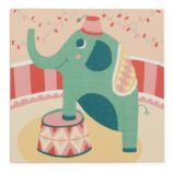 Three Ring Wall Art (Elephant)