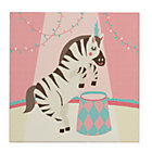 Zebra Three Ring Wall Art