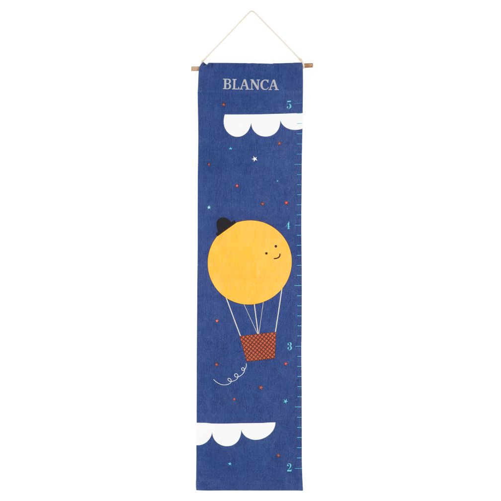Personalized To the Moon Growth Chart