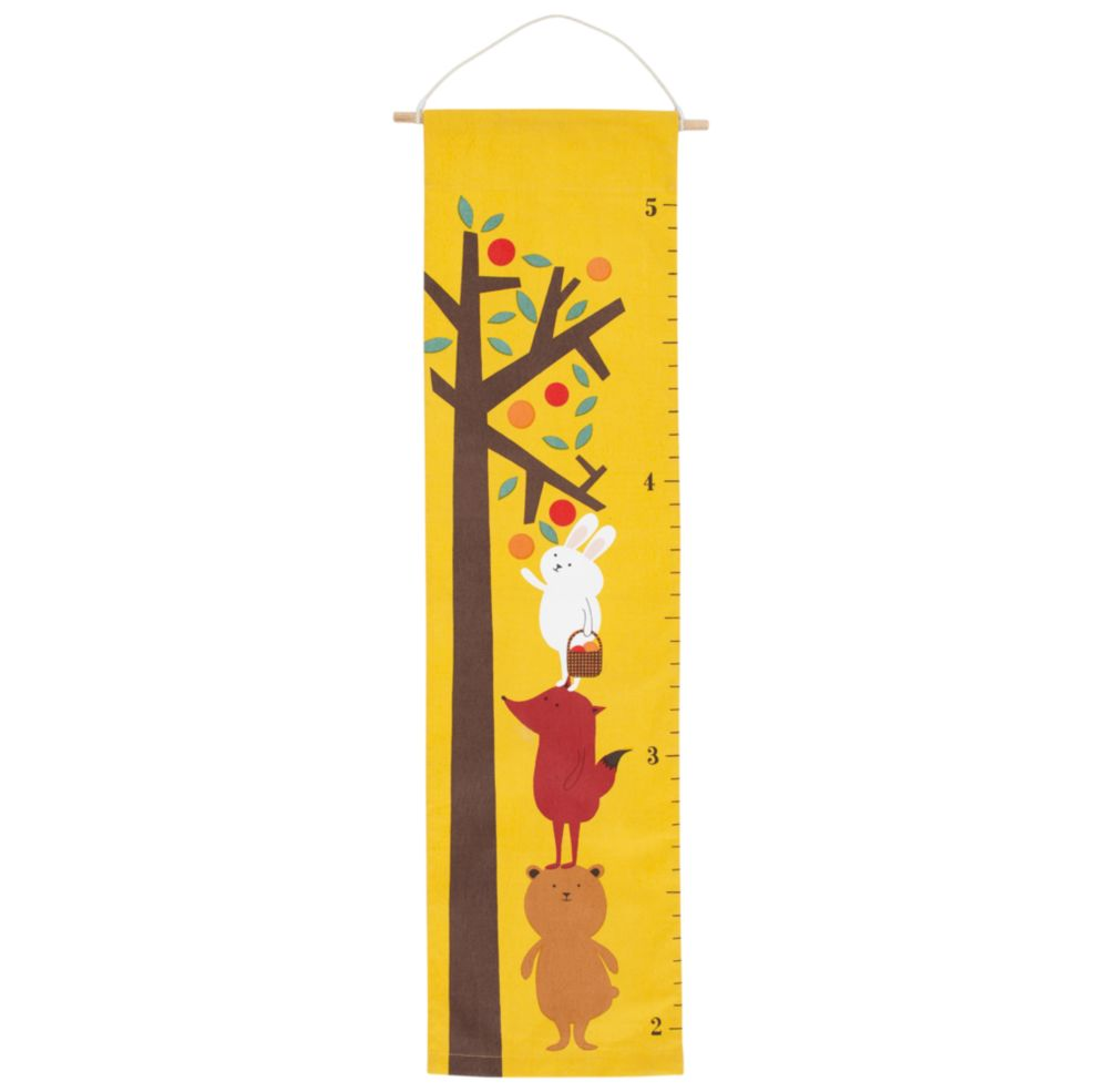 Personalized Bright Eyed, Bushy Tailed Growth Chart