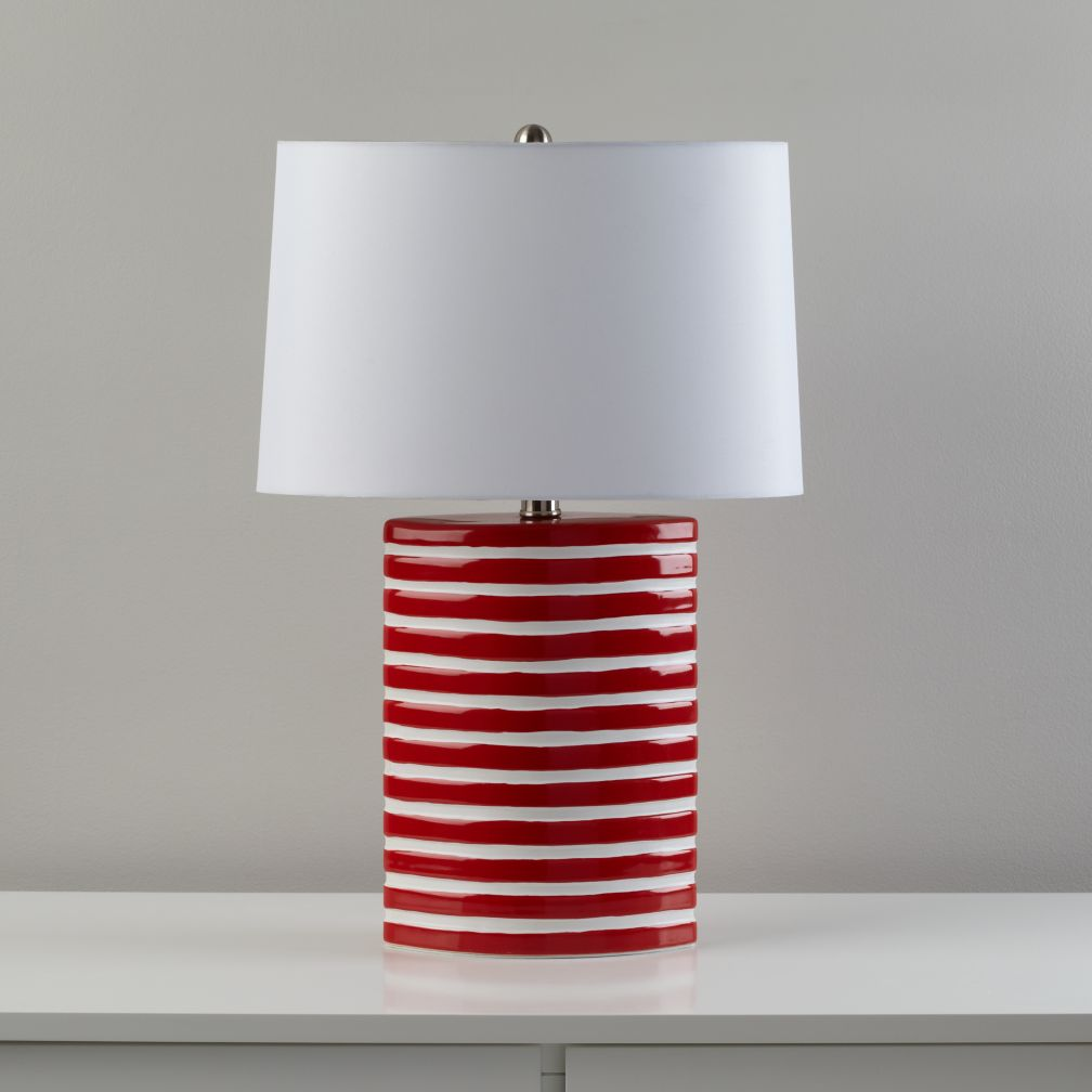 Coastline Table Lamp (Red)