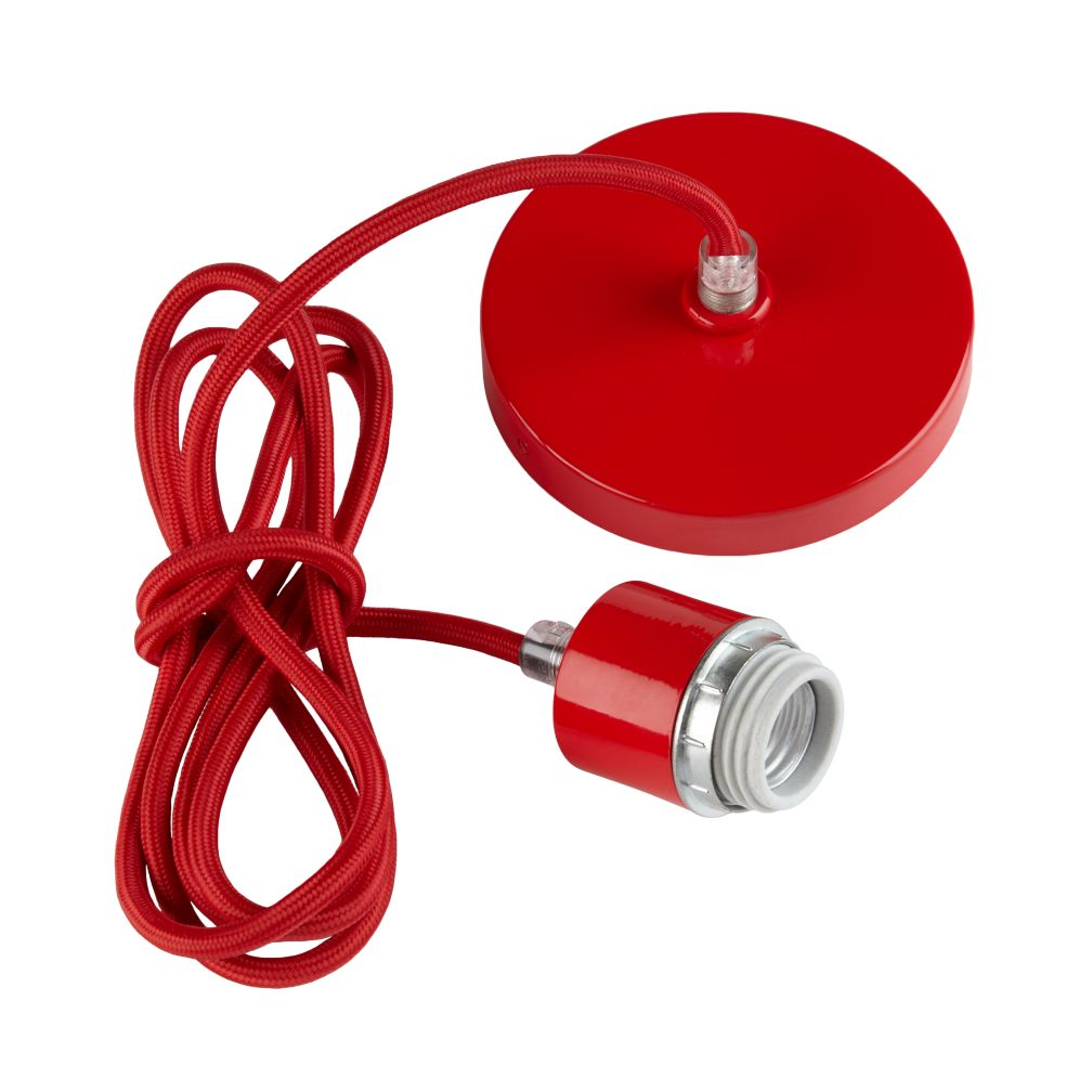 Pop of Color Hardwire Cord Kit (Red)