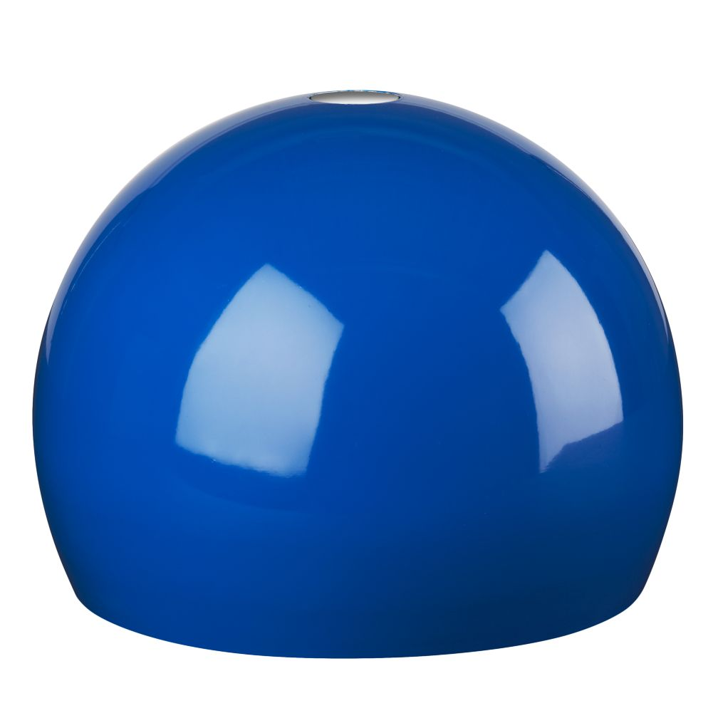 Pop of Color Pendant Shade  (Blue Circle)