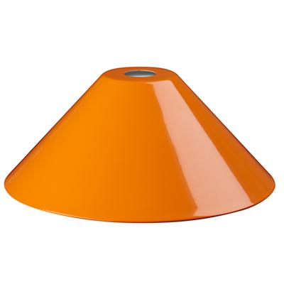 Pop of Color Pendant Shade (Orange)