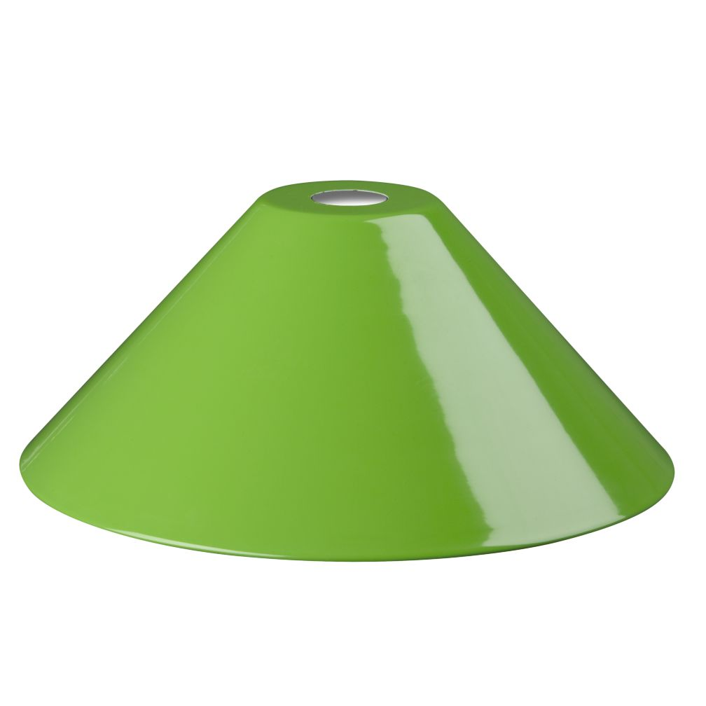 Pop of Color Pendant Shade (Green Triangle)