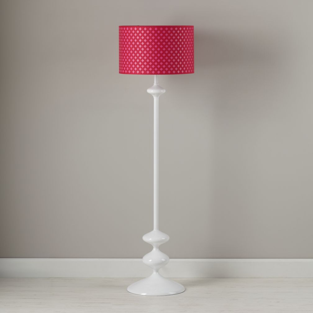 Glow Lightly Floor Shade (Pink)