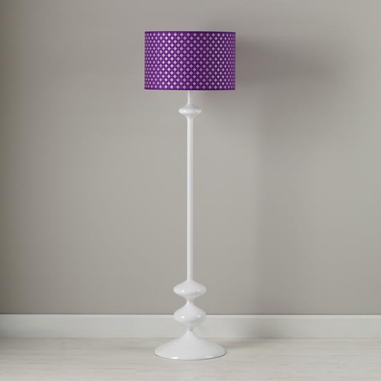 kids 39 floor lamps purple clover floor lamp shade the. Black Bedroom Furniture Sets. Home Design Ideas
