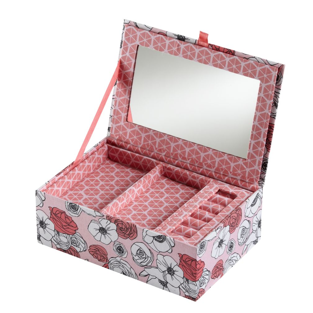 Flower Girl Jewelry Box (Pink)