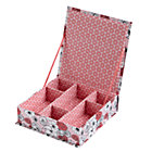 Pink Flower Girl Collection Box
