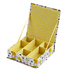 Yellow Flower Girl Collection Box