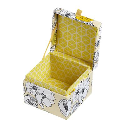 Flower Girl Storage Boxes (Yellow)