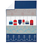 Full Queen Oh Buoy Nautical Quilt