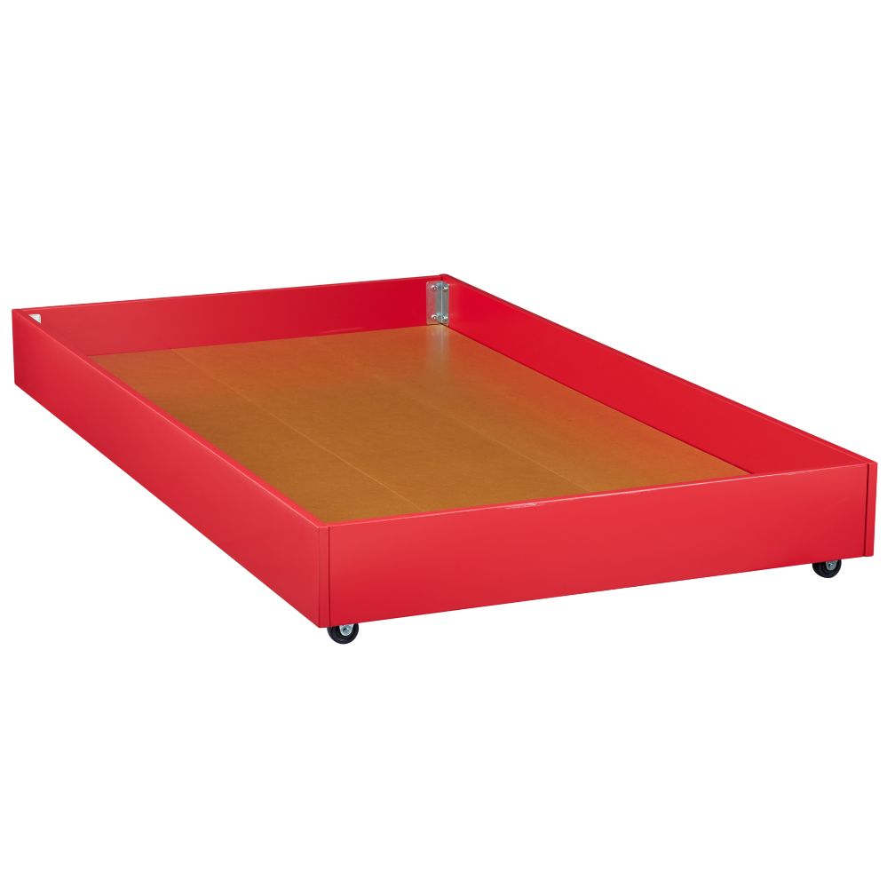 Jenny Lind Trundle Bed (Raspberry)
