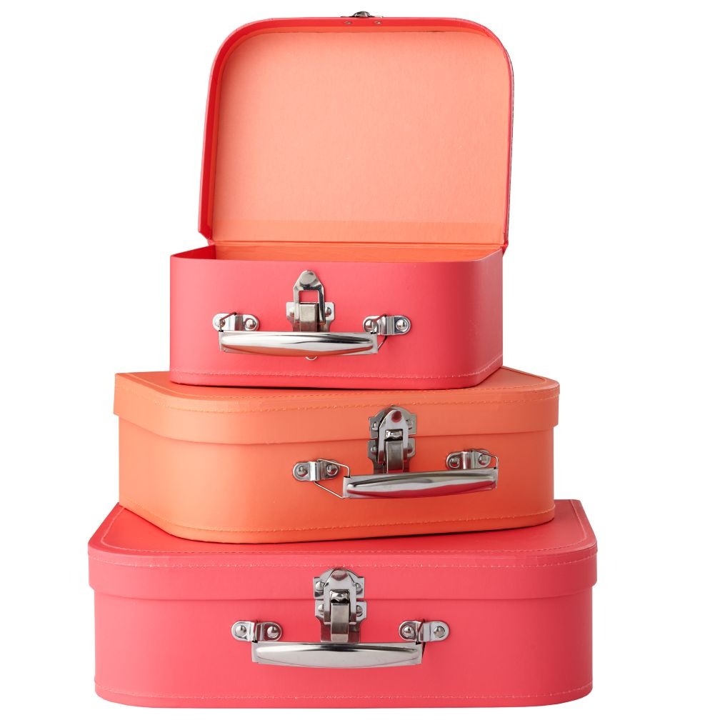 Bon Voyage Suitcase (Pink/Peach)