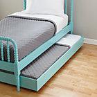 Azure Jenny Lind Trundle Bed