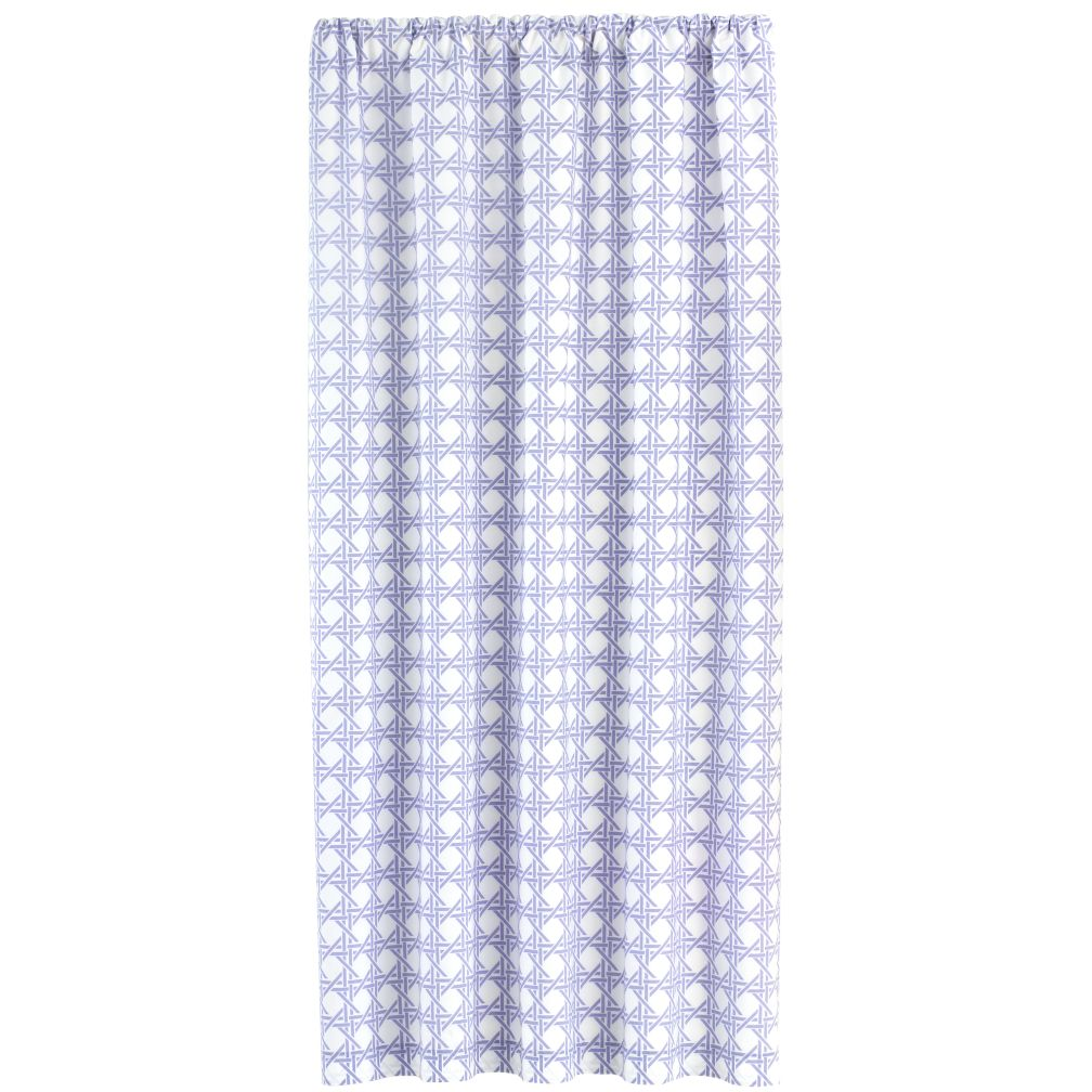 84&quot; Lattice Curtain Panel (Lavender)