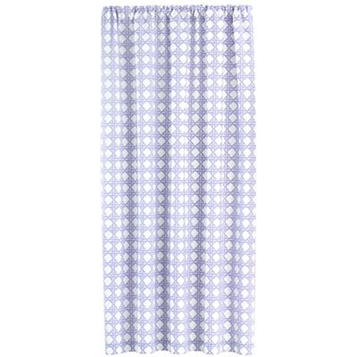 "84"" Lattice Curtain Panel (Lavender)"