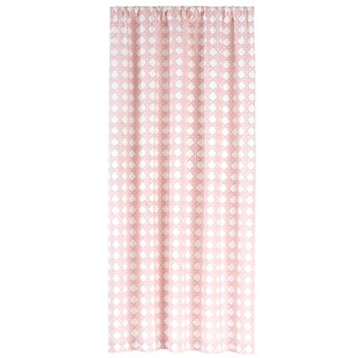 "84"" Lattice Curtain Panel (Pink)"