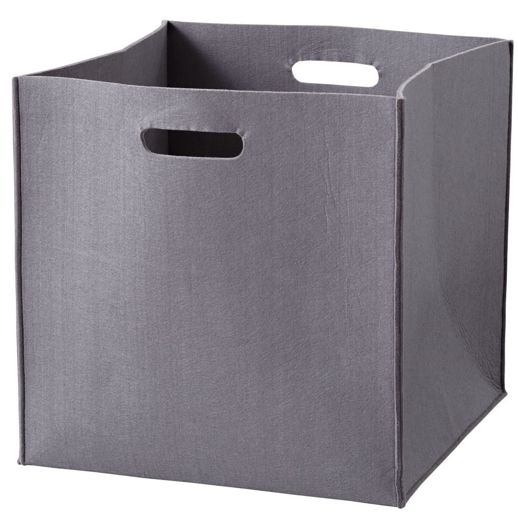 Once More with Felting Floor Bin (Grey)