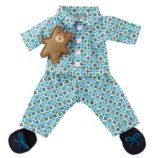 Wee Wonderfuls™ Doll Clothing (Blue Slumber Party)