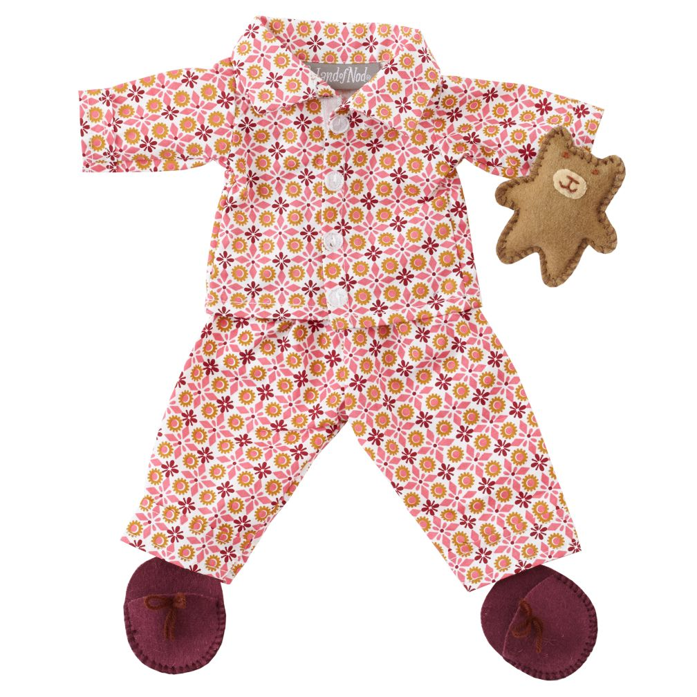 Wee Wonderfuls™ Doll Clothing (Pink Slumber Party)