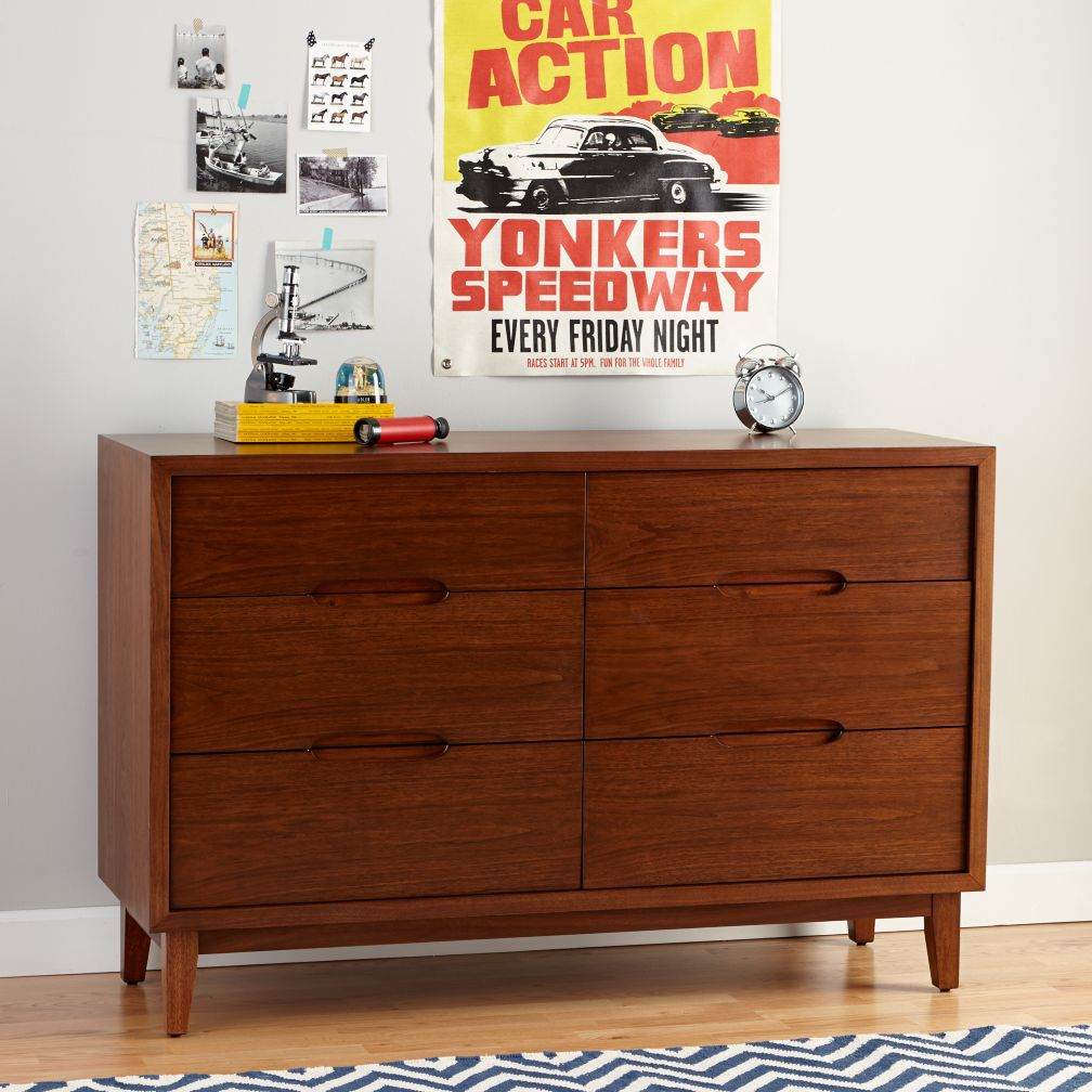 Ellipse 6-Drawer Dresser