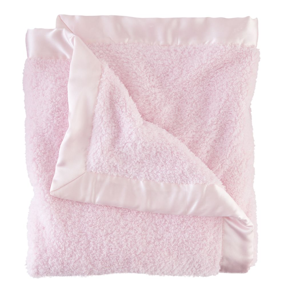 Pink Cuddle Me Softly Baby Blanket