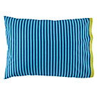 Oceanic Blue Stripe Pillowcase